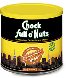 Chock Full O' Nuts Donut Shop Coffee Tin