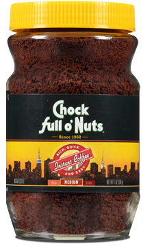 Chock Full O' Nuts Instant Coffee Jar