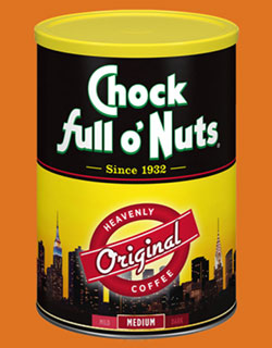 Chock Full O' Nuts Original Coffee Tin